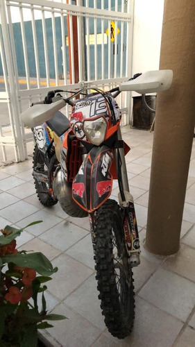moto enduro ktm 250 six days mexico