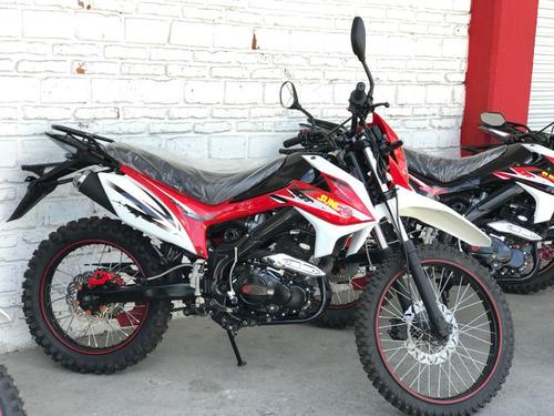 moto enduro marca sunl 250cc nueva 2016