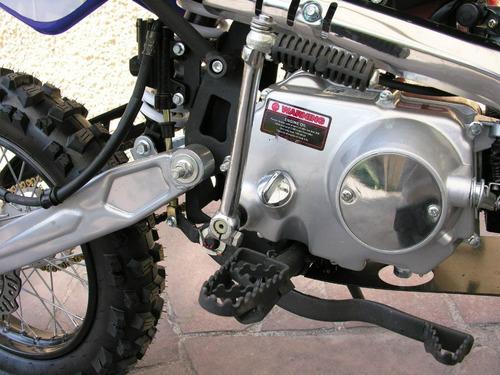 moto enduro pit bike 125 cc 17/14 fr discos fesal