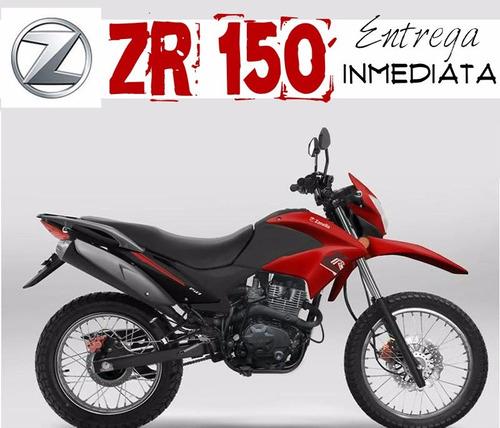moto enduro zanella zr 150 0km black friday