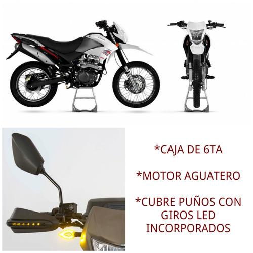 moto enduro zanella zr 250 gt refrigeracion liquida caja 6ta