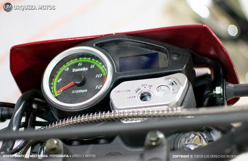 moto enduro zanella zr 250 lt cross 0km urquiza motos