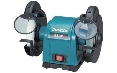 moto esmeril de 250 mm (8 ) 550 watts - gb801  makita - 110v