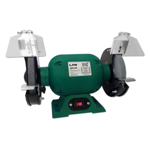 moto esmeril de bancada 1/2 cv - 220v - 6pol x 5/8 - verde