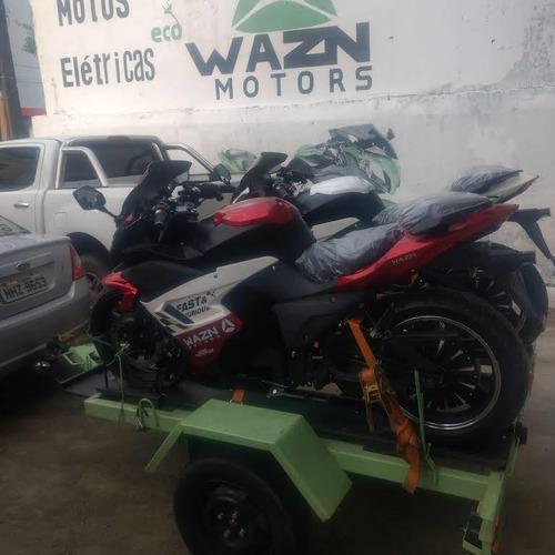 moto esportiva eletrica 3000wats 100% eletrica