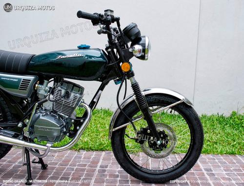 moto estilo cafe racer zanella sapucai f 150 0km