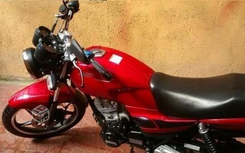moto euromot hj-125-7 sport motocicleta 125cc gasolina roja