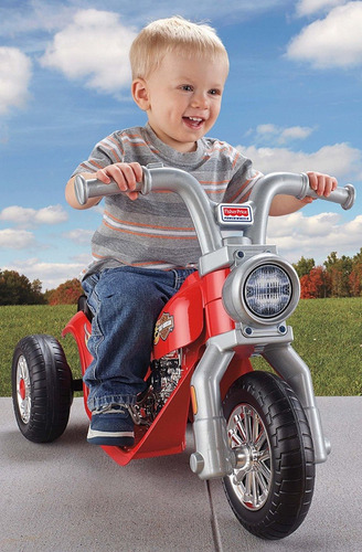 moto fisher price lil harley power wheels para niños