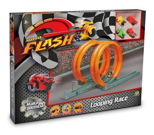 moto flash looping race corrida de motos dtc 3140