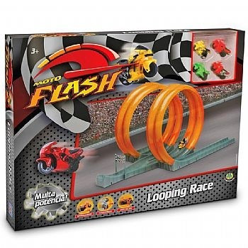 moto flash looping race super velocida na pista dtc 3140