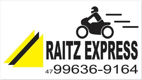 moto frete raitz express entregas rápidas para toda sc