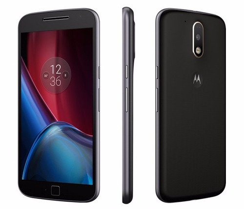 moto g4 plus 32 gb 2 ram 16+5 mpx turbo carga huella octacor