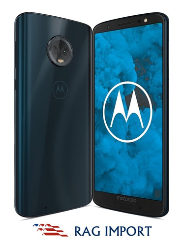 moto g6 / 3gb + 32gb / 12+5mp / 5.7 fhd+ - desbloqueo facial