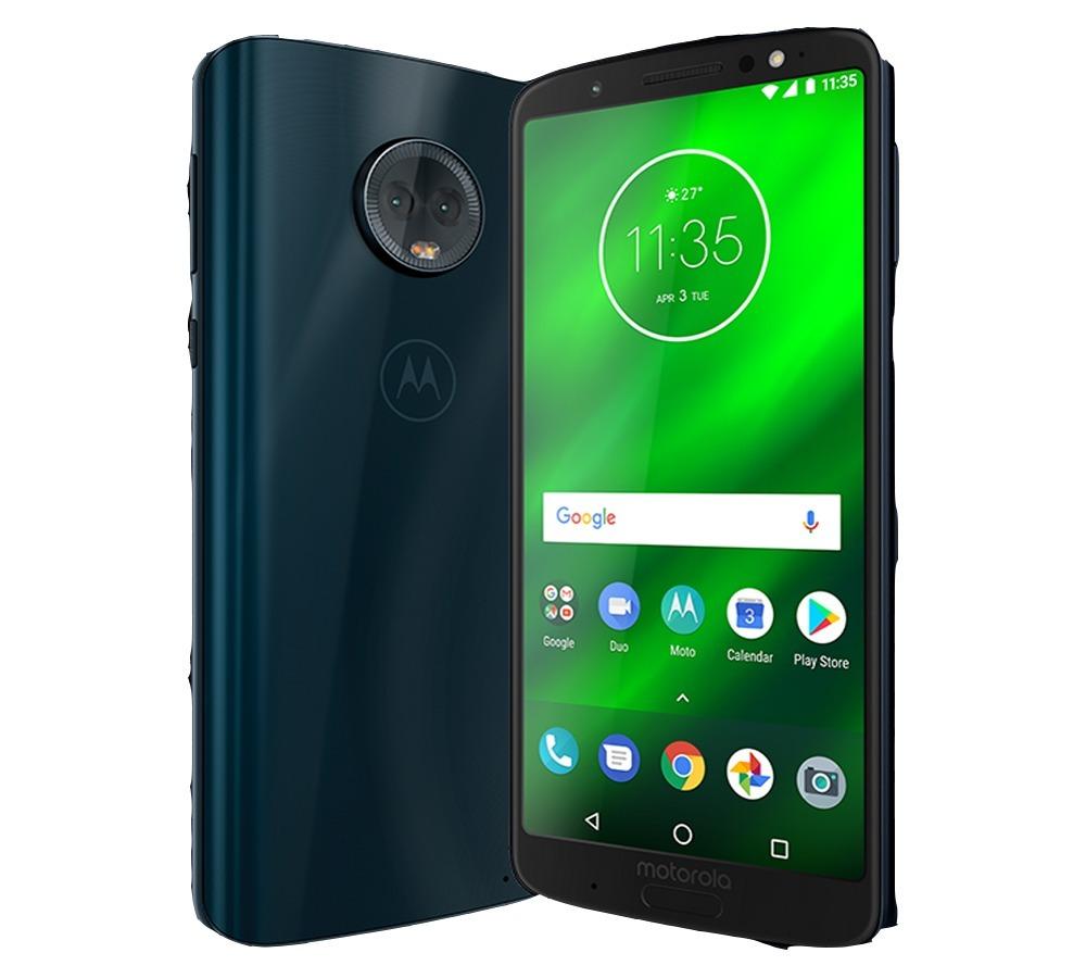 0ff5436f8 Moto G6 Plus Índigo Motorola 64gb Xt1926-7 + Brindes S fone - R  1.549