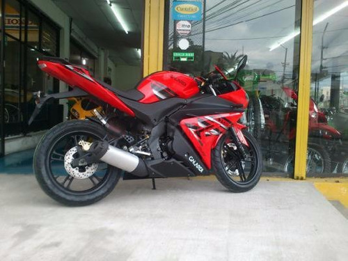 moto galardi gl250gp 250cc año 2020 negro-rojo