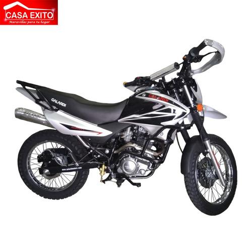 moto galardi gl250tt 250cc año 2020 color negro-rojo-plata
