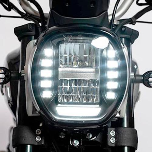 moto gilera ac4 250 0km 2021 negra