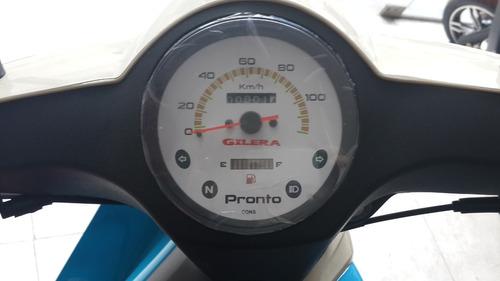 moto gilera c 110 pronto cargo  retro 0km  color rojo 11/8