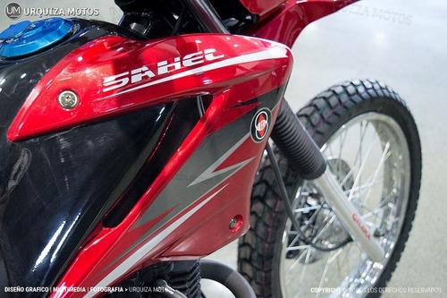 moto gilera enduro cross gilera sahel 150 financiada  0km