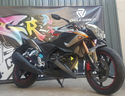 moto gilera g1 250 naked 2016 impecable pirelli demon
