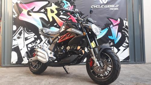 moto gilera gx1 125 r 0km naked 2021 negro hasta 19/1