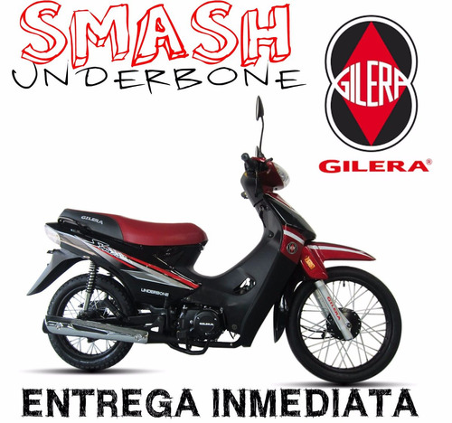 moto gilera smash 110 vs underbone 0km 2017