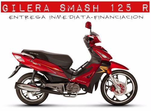 moto gilera smash 125 r 0km 2017