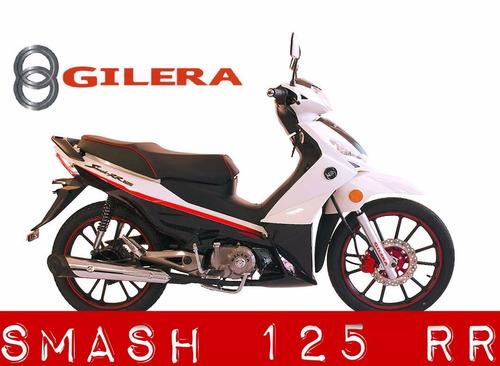moto gilera smash 125 r r  0km 2018
