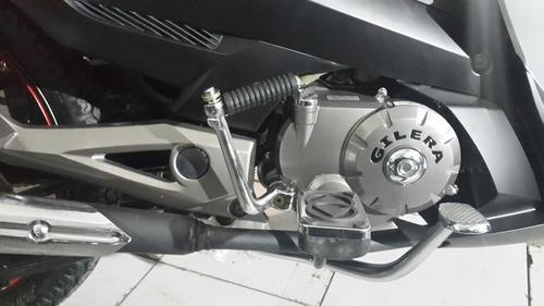 moto gilera  smash 125 rr 0km 2018 blanco hasta 7/12