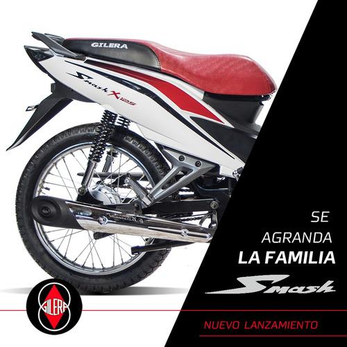 moto gilera smash x 125  nuevo 0km 2019