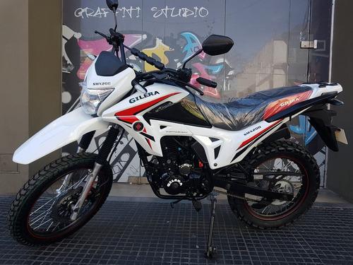 moto gilera smx 200 0km 2018 full nuevo modelo al 07/12