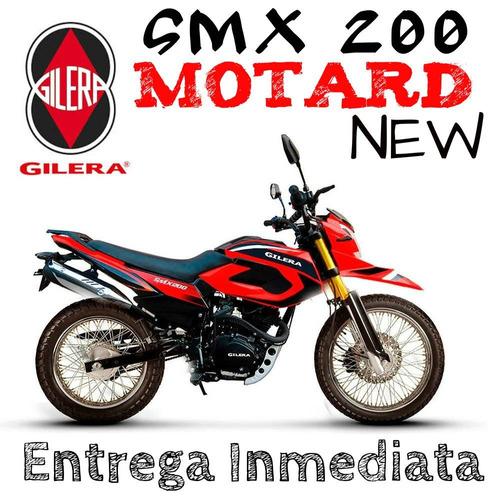 moto gilera smx 200 motard new 2017 0km