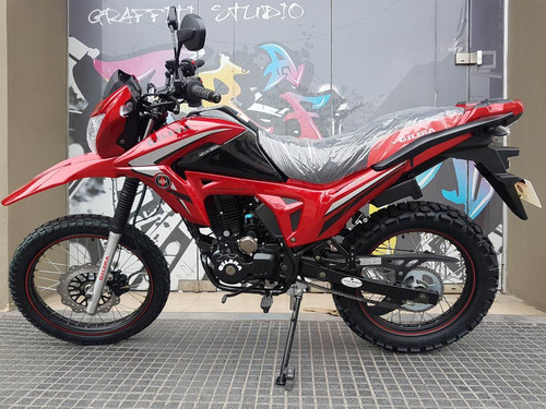 moto gilera smx 200 serie 3 0km 2017 cross 12/10 stock ya