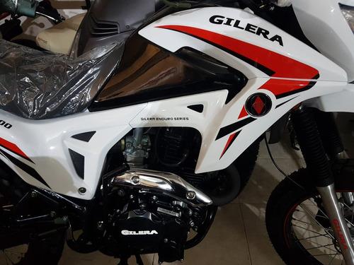 moto gilera smx 200 serie 3 0km 2018 hasta 07/12 stock ya