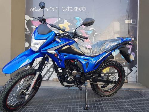 moto gilera smx 200 serie 3 0km 2018 hasta 15/2 stock ya