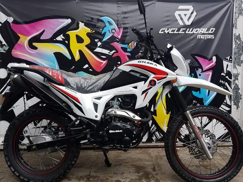 moto gilera smx 200 serie 3 0km 2018 hasta 19/10 stock ya