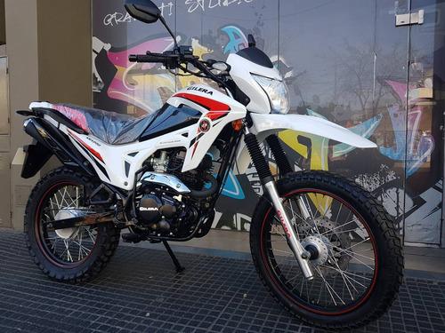 moto gilera smx 200 serie 3 0km 2020 hasta 25/5 cycle world
