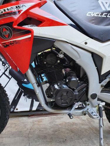 moto gilera smx 250  0km 2019 caja de 6 motor loncin al 25/5