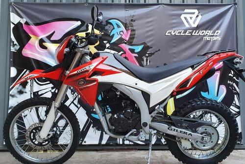 moto gilera smx 250 0km 2019 rojo loncin promo hasta el 25/5