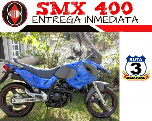 moto gilera smx 400 touring 2018