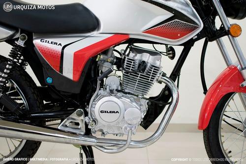 moto gilera vc 150 base street calle 0km urquiza motos