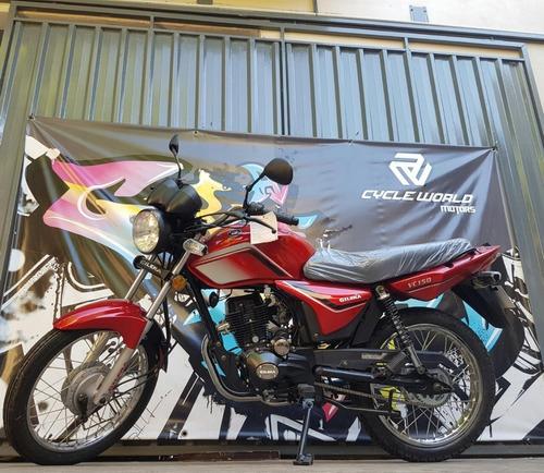 moto gilera vc 150 strada nueva 0km 2018 12/18 cuotas 21/03