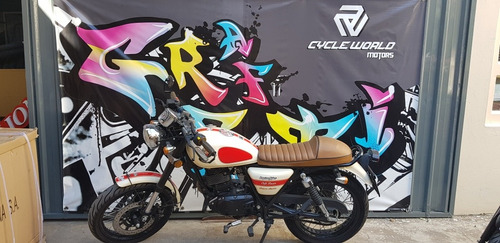 moto gilera  vc 200 cafe racer 2016 impecable 12 y 18 cuotas