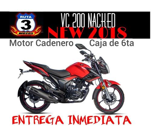 moto gilera vc 200 nacked new 2019 0km