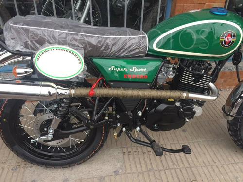 moto gilera vc 200 scrambler cafe racer enduro 2017 0km