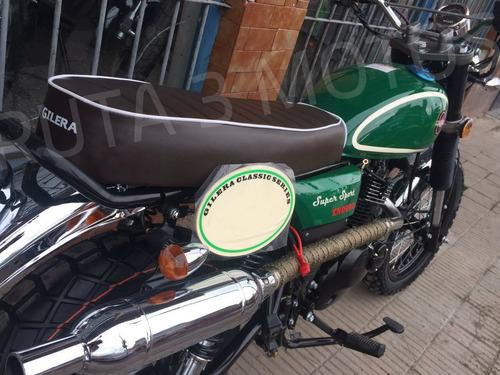 moto gilera vc 200 scrambler cafe racer enduro 2018 0km