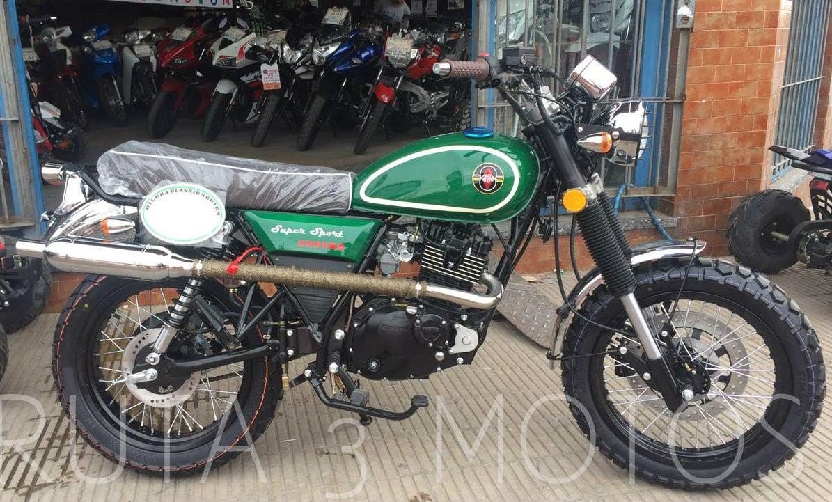 moto gilera vc  scrambler cafe racer enduro  km  en mercado libre