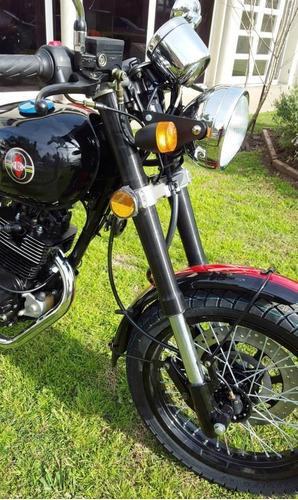 moto gilera vc 200 super sport cafe racer 0km 2017