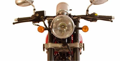 moto gilera vc 200 super sport cafe racer 0km 2018