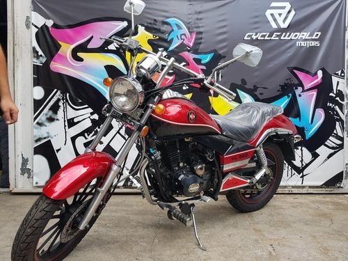 moto gilera yl 200 blanca chopera 2018 0km al 10/11